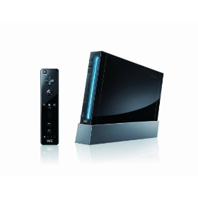 Nintendo Wii - schwarz