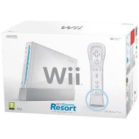 Nintendo Wii + Wii Sports Resort + Motion Plus Controller