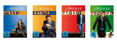 Dr. House - Staffel 1-4